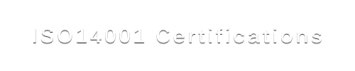 ISO14001 Certifications